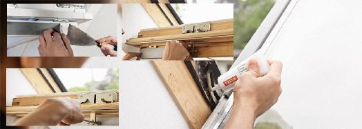 Velux dachfl chenfenster - Velux dachfenster fetten ...